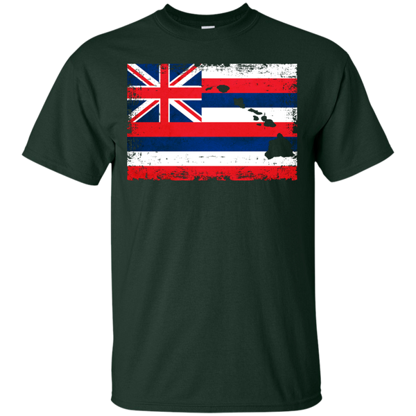 Hawaii State Custom Ultra Cotton T-Shirt, Short Sleeve, Hawaii Nei All Day, Hawaii Clothing Brands