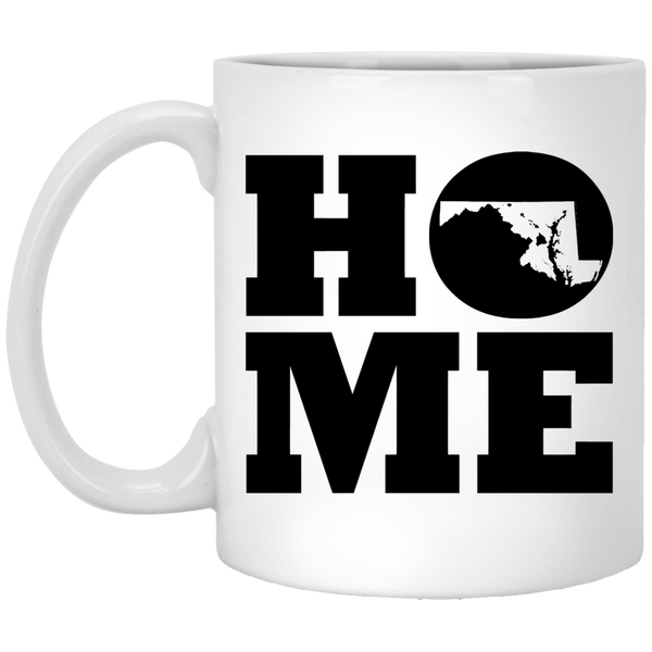 Home Roots Hawai'i and Maryland White Mug, Apparel, Hawaii Nei All Day
