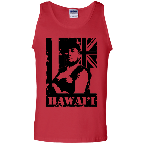 Hawai'i Queen Liliuokalani 100% Cotton Tank Top, T-Shirts, Hawaii Nei All Day, Hawaii Clothing Brands