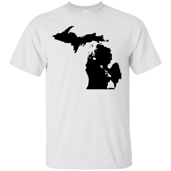 Living in Michigan with Hawaii Roots Ultra Cotton T-Shirt, T-Shirts, Hawaii Nei All Day, Hawaii Clothing Brands