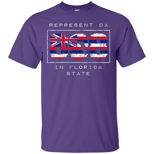 Represent Da 808 In Florida State Custom Ultra Cotton T-Shirt, Short Sleeve, Hawaii Nei All Day, Hawaii Clothing Brands