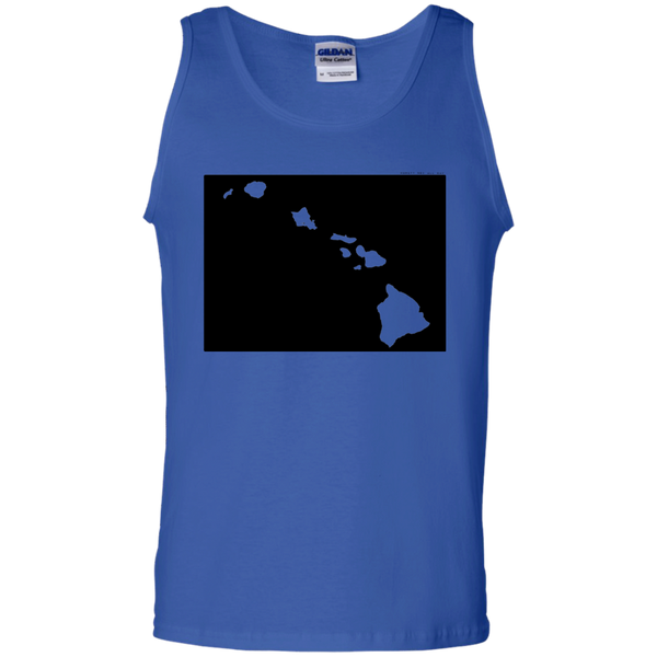 Living in Colorado with Hawaii Roots 100% Cotton Tank Top, T-Shirts, Hawaii Nei All Day, Hawaii Clothing Brands