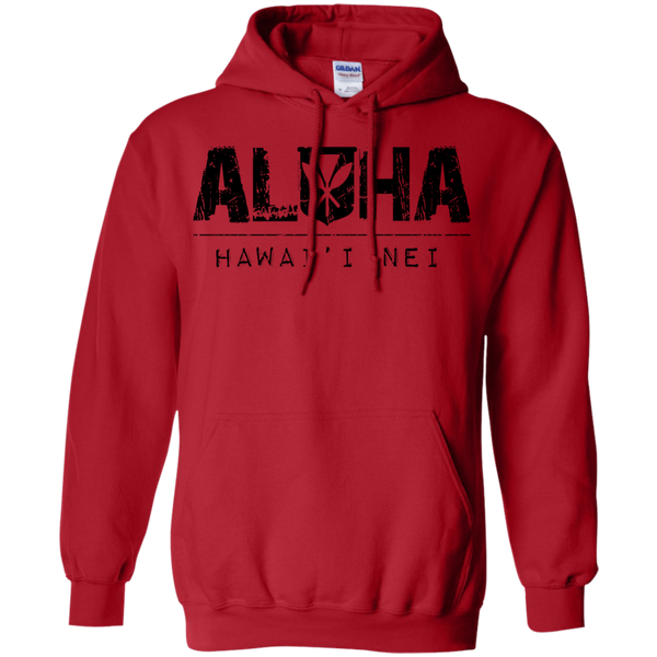 Aloha Hawai'i Nei Pullover Hoodie, Sweatshirts, Hawaii Nei All Day