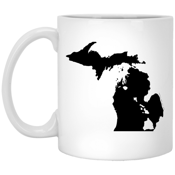Michigan and Hawaii Roots White Mug, Apparel, Hawaii Nei All Day