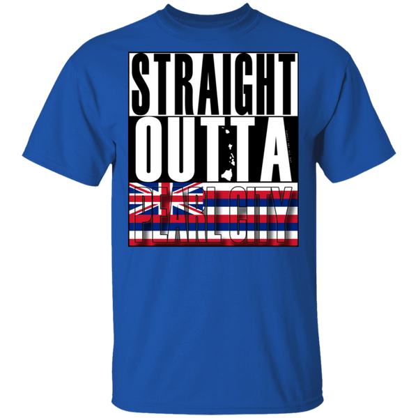 Straight Outta Pearl City T-Shirt, T-Shirts, Hawaii Nei All Day