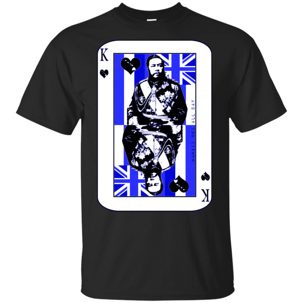 The King of Hawai'i Kalakaua(blue ink) Ultra Cotton T-Shirt, T-Shirts, Hawaii Nei All Day