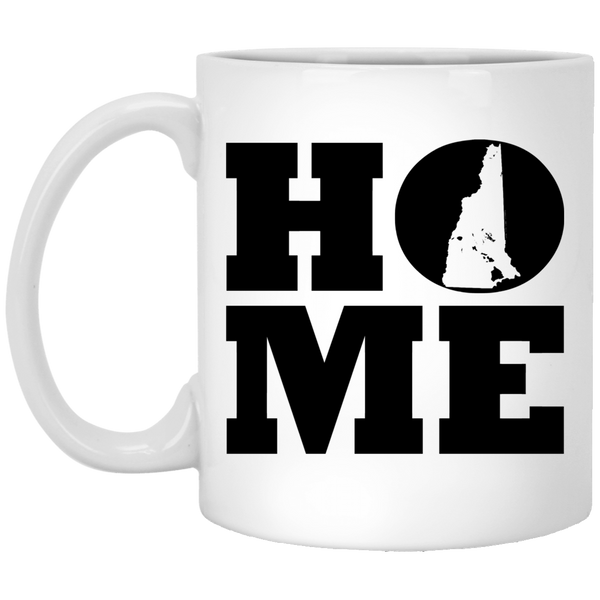 Home Roots Hawai'i and New Hampshire White Mug, Apparel, Hawaii Nei All Day