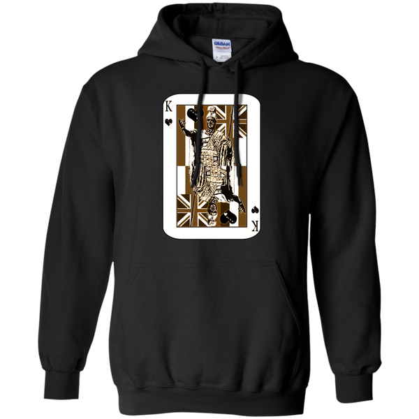 The King of Hawai'i Pullover Hoodie 8 oz, Hoodies, Hawaii Nei All Day