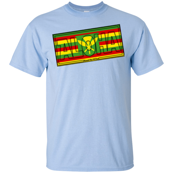 Aloha Hawai'i Kanaka Maoli Youth Ultra Cotton T-Shirt, T-Shirts, Hawaii Nei All Day, Hawaii Clothing Brands