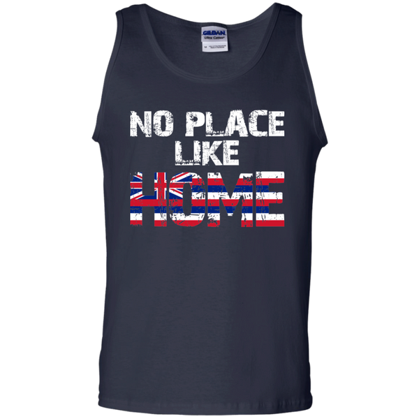 No Place Like HOME Hawai'i 100% Cotton Tank Top, T-Shirts, Hawaii Nei All Day, Hawaii Clothing Brands