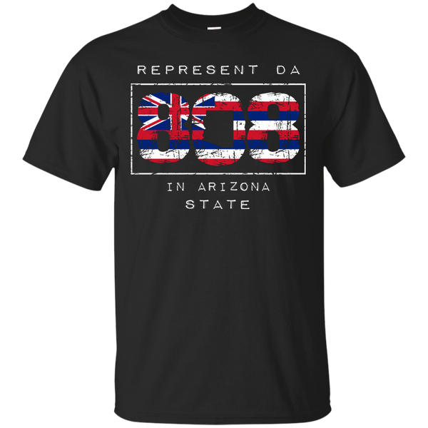 Represent Da 808 In Arizona State Ultra Cotton T-Shirt, T-Shirts, Hawaii Nei All Day, Hawaii Clothing Brands