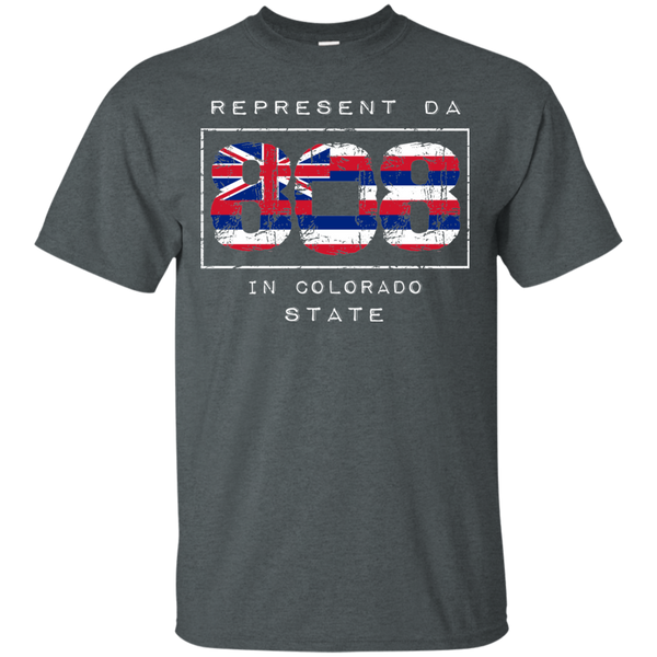 Rep Da 808 In Colorado State Ultra Cotton T-Shirt, T-Shirts, Hawaii Nei All Day, Hawaii Clothing Brands