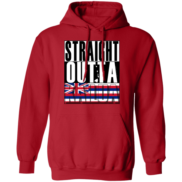 Straight Outta Kailua Pullover Hoodie, Sweatshirts, Hawaii Nei All Day