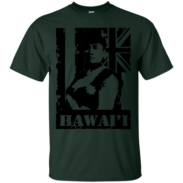 Hawai'i Queen Liliuokalani Ultra Cotton T-Shirt, T-Shirts, Hawaii Nei All Day, Hawaii Clothing Brands