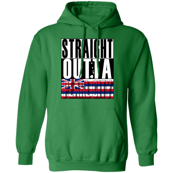 Straight Outta Pearl City Pullover Hoodie, Sweatshirts, Hawaii Nei All Day