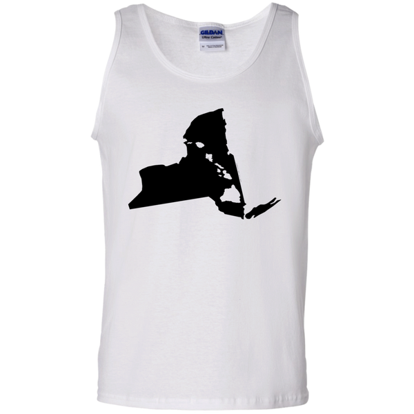 Living In New York With Hawaii Roots 100% Cotton Tank Top, T-Shirts, Hawaii Nei All Day, Hawaii Clothing Brands