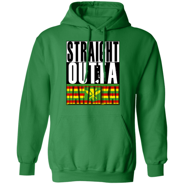 Straight Outta Hawaii Kai(Kanaka Maoli) Pullover Hoodie, Sweatshirts, Hawaii Nei All Day