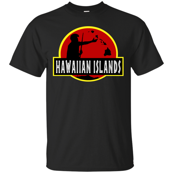 Hawaiian Islands King Kamehameha Ultra Cotton T-Shirt, Short Sleeve, Hawaii Nei All Day