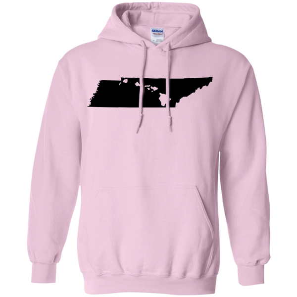 Living in Tennessee with Hawaii Roots Pullover Hoodie 8 oz., Sweatshirts, Hawaii Nei All Day, Hawaii Clothing Brands