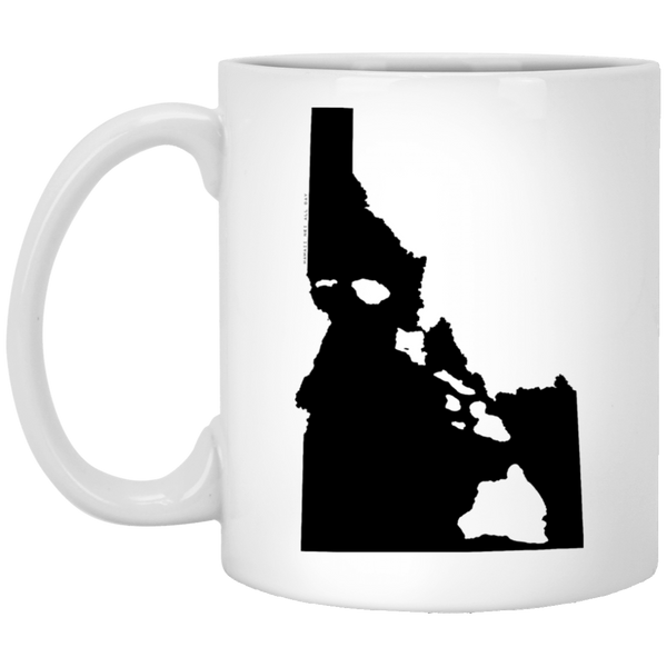 Idaho and Hawaii Roots White Mug, Apparel, Hawaii Nei All Day