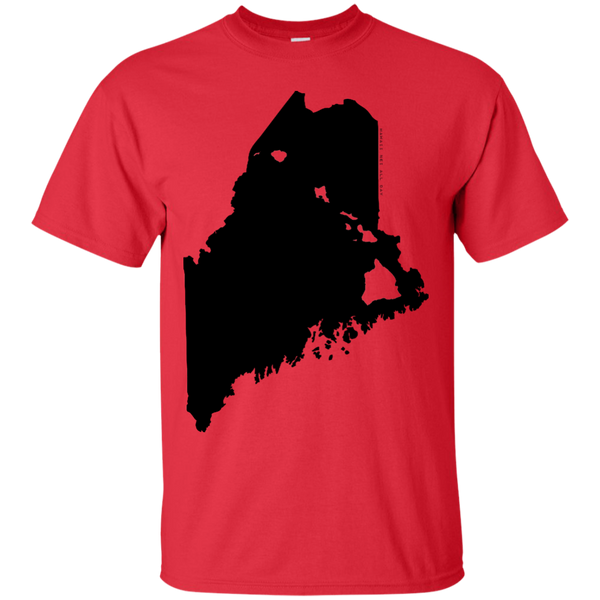 Living in Maine with Hawaii Roots Ultra Cotton T-Shirt, T-Shirts, Hawaii Nei All Day, Hawaii Clothing Brands