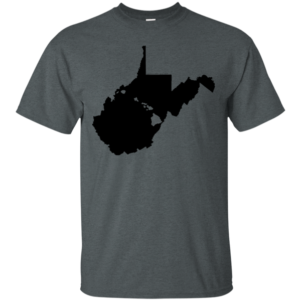 Living in West Virginia with Hawaii Roots Ultra Cotton T-Shirt, T-Shirts, Hawaii Nei All Day, Hawaii Clothing Brands