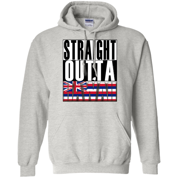 Straight Outta Hawaii Pullover Hoodie, Sweatshirts, Hawaii Nei All Day