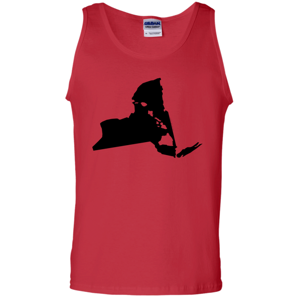 Living In New York With Hawaii Roots 100% Cotton Tank Top, T-Shirts, Hawaii Nei All Day