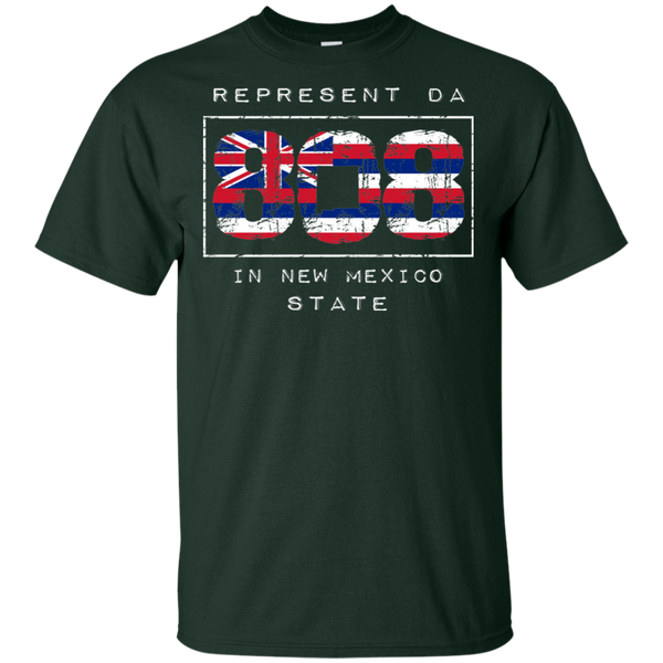 Rep Da 808 In New Mexico State Ultra Cotton T-Shirt, T-Shirts, Hawaii Nei All Day