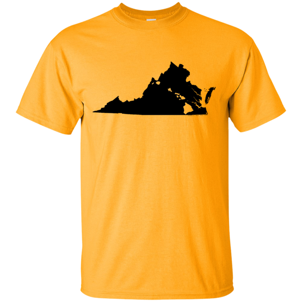 Living in Virginia with Hawaii Roots Ultra Cotton T-Shirt, T-Shirts, Hawaii Nei All Day