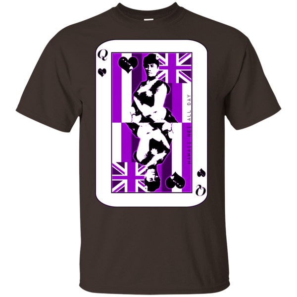 The Queen of Hawai'i Liliuokalani (purple ink) Ultra Cotton T-Shirt, T-Shirts, Hawaii Nei All Day