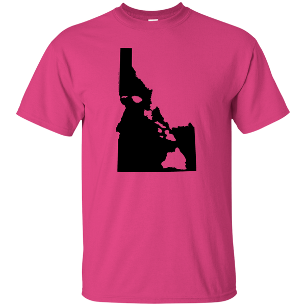Living in Idaho with Hawaii Roots Ultra Cotton T-Shirt, T-Shirts, Hawaii Nei All Day