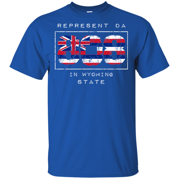 Rep Da 808 In Wyoming State Ultra Cotton T-Shirt, T-Shirts, Hawaii Nei All Day