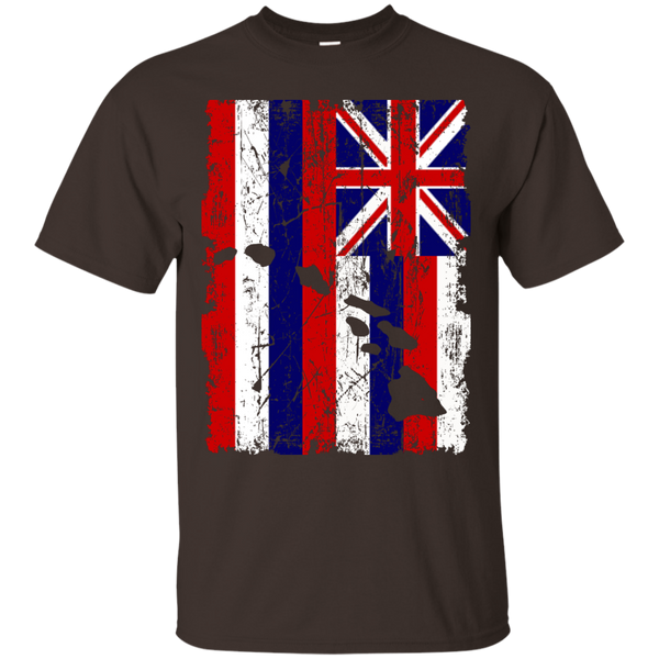 Hawaii - The Aloha State Custom Ultra Cotton T-Shirt, Short Sleeve, Hawaii Nei All Day