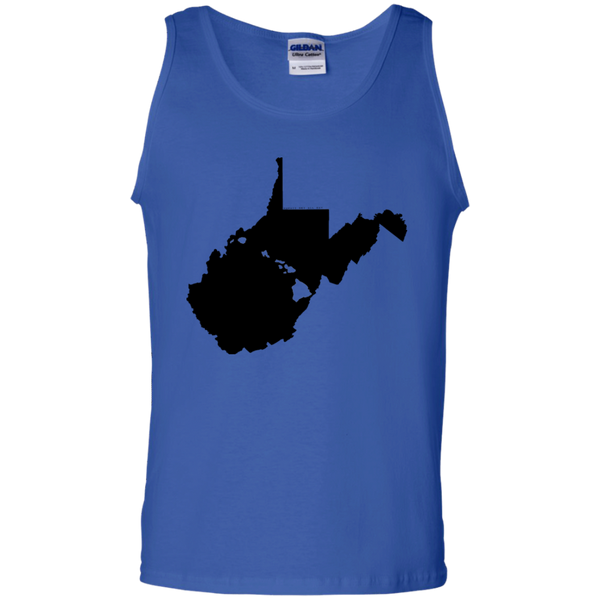 Living in West Virginia with Hawaii Roots 100% Cotton Tank Top, T-Shirts, Hawaii Nei All Day