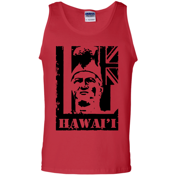 Hawai'i King Kamehameha 100% Cotton Tank Top, T-Shirts, Hawaii Nei All Day