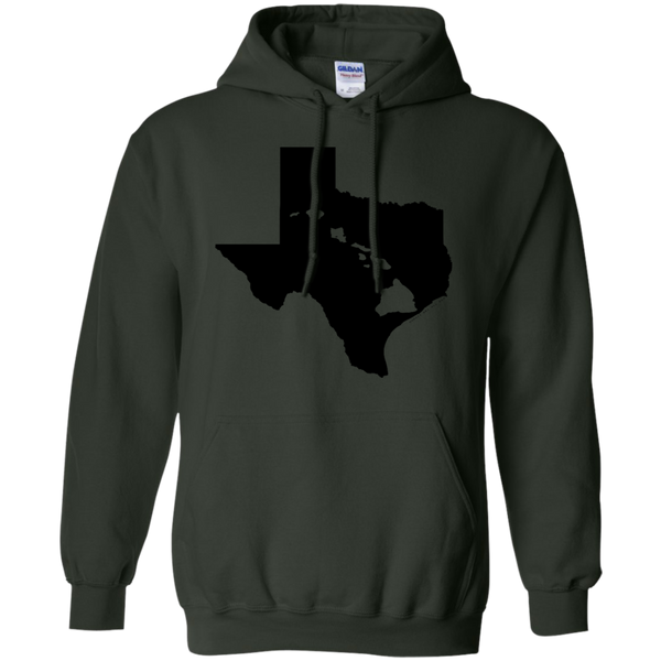 Living In Texas With Hawaii Roots Pullover Hoodie 8 oz, Hoodies, Hawaii Nei All Day
