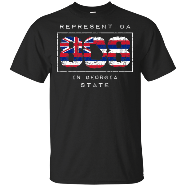 Rep Da 808 In Georgia State Ultra Cotton T-Shirt