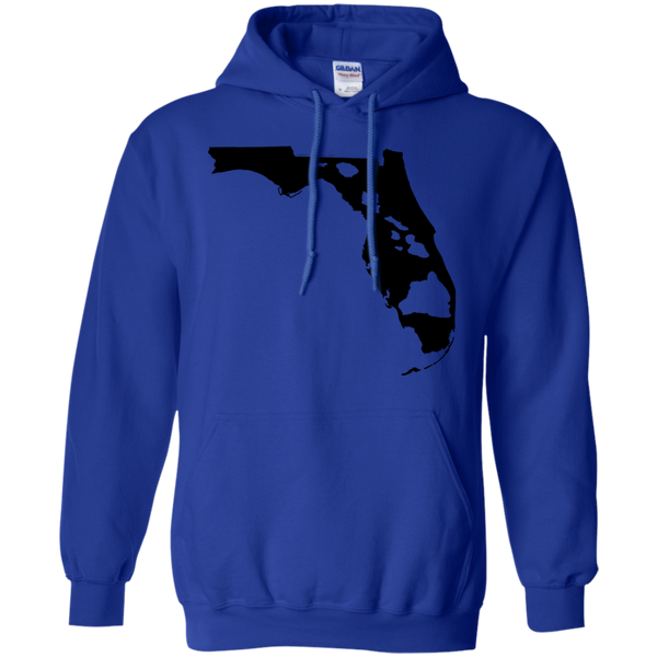 Living In Florida With Hawaii Roots Pullover Hoodie 8 oz, Hoodies, Hawaii Nei All Day, Hawaii Clothing Brands