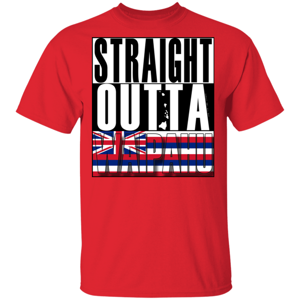Straight Outta Waipahu T-Shirt, T-Shirts, Hawaii Nei All Day