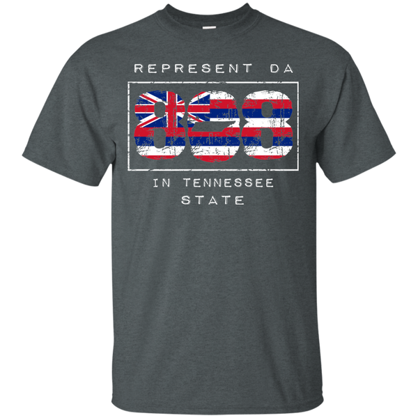 Rep Da 808 In Tennessee State Ultra Cotton T-Shirt, T-Shirts, Hawaii Nei All Day, Hawaii Clothing Brands