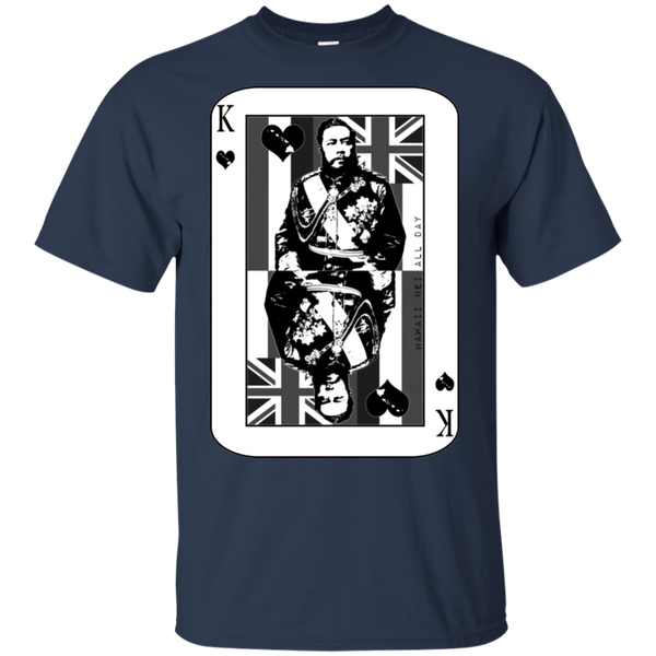 The King of Hawai'i Kalakaua(black ink) Ultra Cotton T-Shirt, T-Shirts, Hawaii Nei All Day