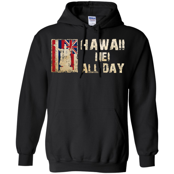 Hawaii Nei ALL DAY Pullover Hoodie, Hoodies, Hawaii Nei All Day