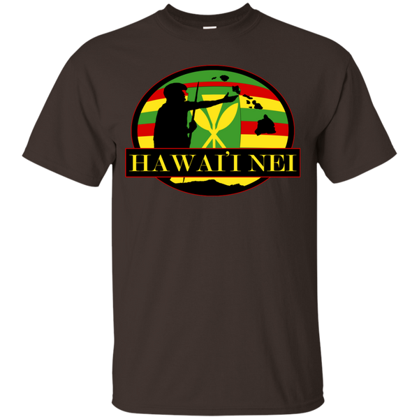 Hawai'i Nei Kanaka Maoli Youth Custom Ultra Cotton Tee, T-Shirts, Hawaii Nei All Day, Hawaii Clothing Brands
