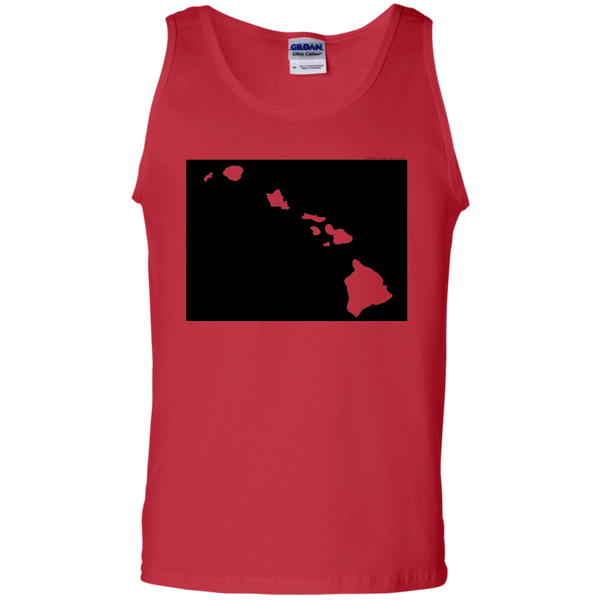 Living in Colorado with Hawaii Roots 100% Cotton Tank Top, T-Shirts, Hawaii Nei All Day