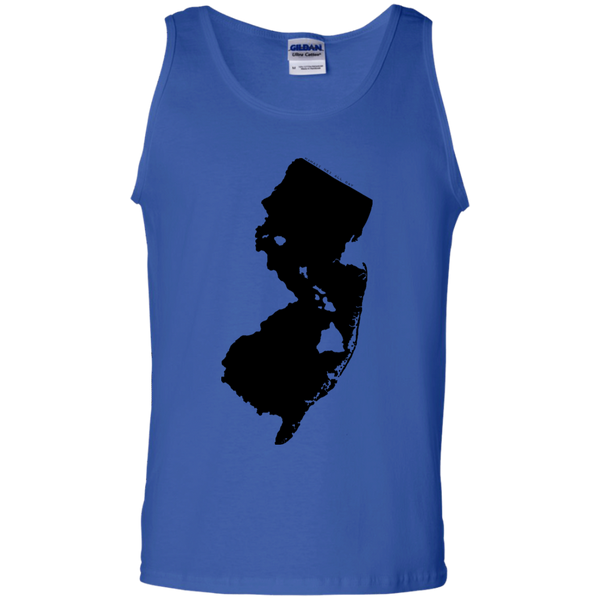 Living in New Jersey with Hawaii Roots 100% Cotton Tank Top, T-Shirts, Hawaii Nei All Day