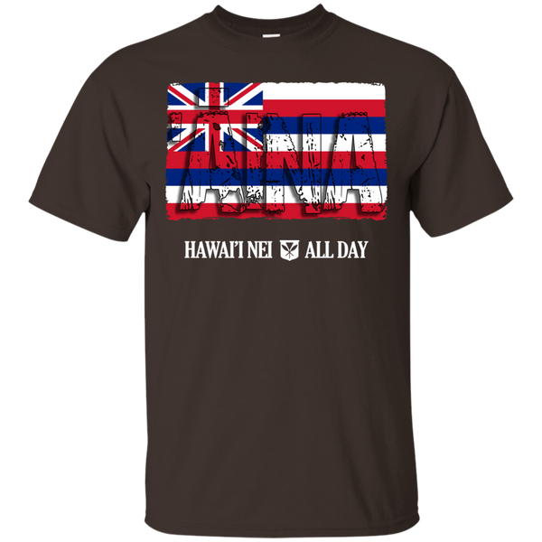 'Aina Hawai'i Nei Ultra Cotton T-Shirt, T-Shirts, Hawaii Nei All Day, Hawaii Clothing Brands