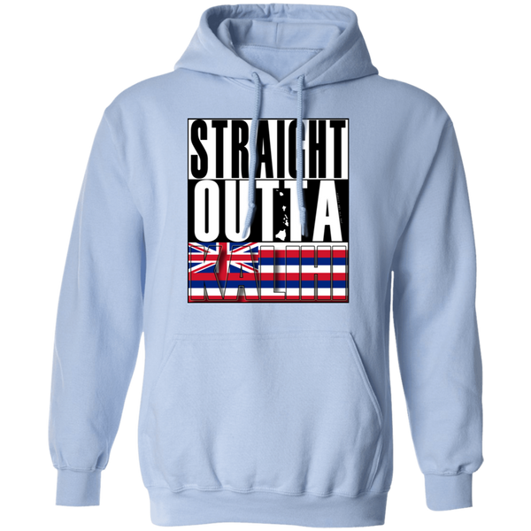 Straight Outta Kalihi Pullover Hoodie, Sweatshirts, Hawaii Nei All Day