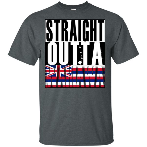 Straight Outta Wahiawa Ultra Cotton T-Shirt, T-Shirts, Hawaii Nei All Day