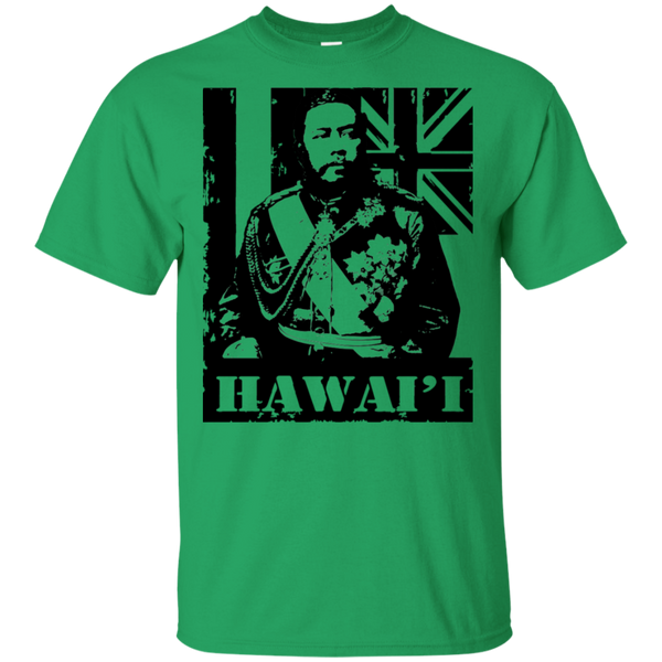 Hawai'i King Kalakaua Ultra Cotton T-Shirt, T-Shirts, Hawaii Nei All Day